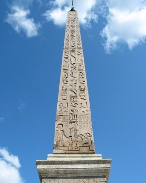 Journey of the Egyptian Obelisks in Top 10 world general chart