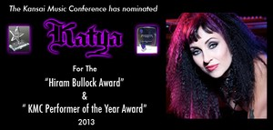 KATYA NOMINATED FOR KMC PERFORMER OF THE YEAR AWARD