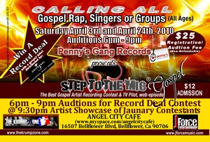 Gospel artist if you need a record deal, here you go!!