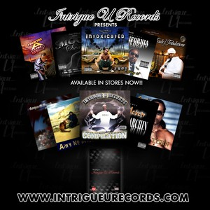 Available Albums from Intrigue U Records on listed Links
