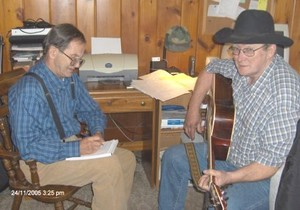 We write alot of material that fits Alan Jackson and Jimmy Buffet's s