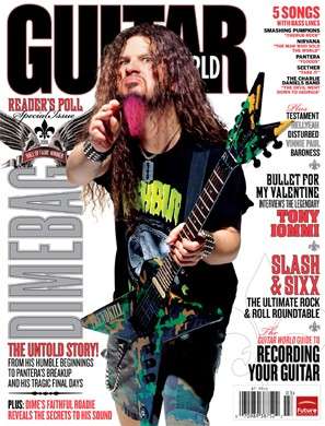 Guitar World March 2008 issue