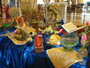 iranian new year and haft sin