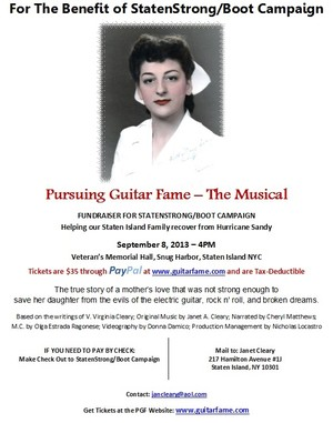 Jan Cleary presents Pursuing Guitar Fame - The Musical