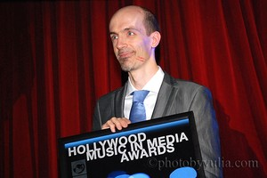 Winner at the Hollywood Music in Media Awards 2011!